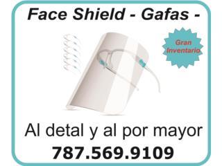 San Juan - Río Piedras Puerto Rico COVID-19 Mascarillas, Face Shield de Gafas $5