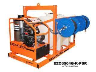 Hot Water Gas & Diesel - Máquina a Presión  , FJR Equipment Puerto Rico