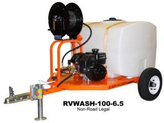 Máquina Lavado Presión Con Remolque, FJR Equipment Puerto Rico