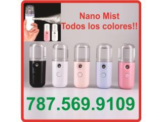 Mini Fogger Portátiles, Nano Mist Spray, Mascarillas y Más... Puerto Rico
