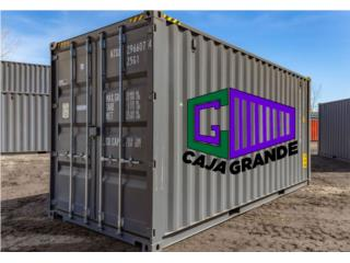USED 40' SHIPPING CONTAINER / TRAILER, Caja Grande Puerto Rico