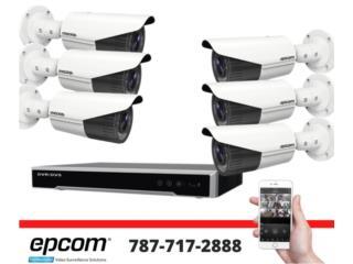 cámaras de seguridad , Security & Automation  Puerto Rico
