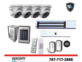 CONTROL DE ACCESO/CAMARAS DE SEGURIDAD, Security & Automation  Puerto Rico