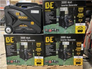 3000 Watt Inverter Generator BE Pressure, DE DIEGO RENTAL Puerto Rico