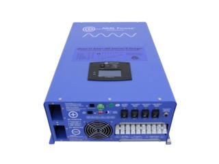 8000 Watt Pure Sine Inverter Charger - 48 Vdc, PowerComm, Inc 7878983434 Puerto Rico