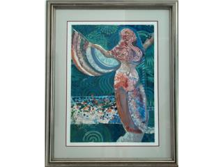 Primavera 1994 Andy Bueso Serigrafia , Paintings Puerto Rico