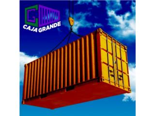 CONTAINERS NEW! ONE TRIP STEEL!, Caja Grande Puerto Rico