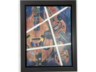 Violines, Nicole Bueso 2011, Paintings Puerto Rico