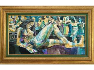 Cuerpo en Reposo Andy Bueso  1992, Paintings Puerto Rico