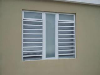 Ventana Old San Juan Con Fijo 60, #1 SANTIAGO WINDOW & DOORS Puerto Rico