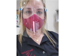 faceshield con gafas, Wellness Direct Service  Puerto Rico
