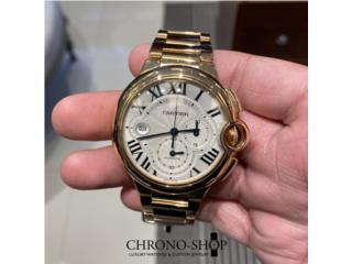 Cartier Ballon Bleu XL 18k Rose Gold, CHRONO - SHOP Puerto Rico