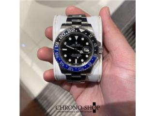 "Carolina - Isla Verde Puerto Rico Joyeria Relojes, Rolex GMT Master II ""Batman""  (Descontinuado)"