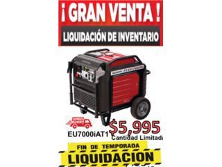 Planta Electrica Honda EU 7000 - $5995, Tech Factory USA Puerto Rico
