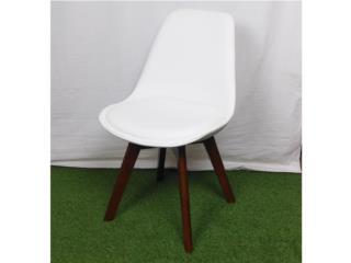Nuevo! Silla Eames tapizada en blanco , PR SEATING Puerto Rico