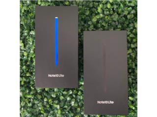 Galaxy Note 10 lite 128/8GB Nuevos , Cellphone's To Go Puerto Rico