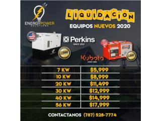 Unidades 2020en liquidación., Energy Powers Solutions Puerto Rico