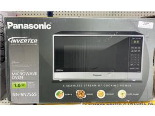 Panasonic Microwave  1.6 CU, La Familia Casa de Empeño y Joyería-Yauco  Puerto Rico