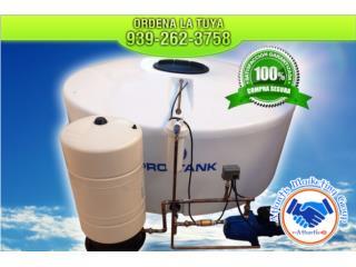 Arecibo Puerto Rico Calentadores de Agua, GRANDES OFERTAS EN CISTERNAS DESDE $1,495.00