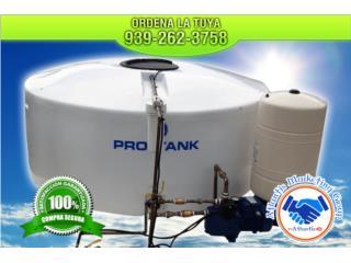 Arecibo Puerto Rico Calentadores de Agua, Variedad en cisternas a escoger