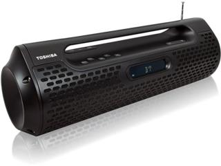 TOSHIBA BOOMBOX BLK - PORTÁTIL Y RECARGABLE, Power Sports Home + Outlet Puerto Rico