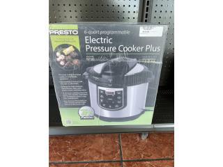 Electric pressure cooker, La Familia Guayama 1  Puerto Rico