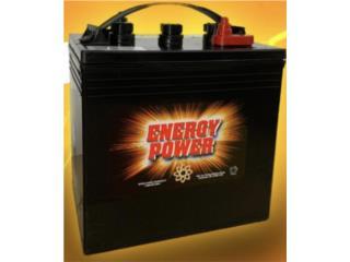 Baterías Energy Power 240ah @ 6V, MULTI BATTERIES & FORKLIFT, CORP. Puerto Rico