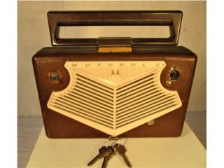MOTORA AM RADIO MODEL 56BIA.  1950's , Mr. Bond Vintage Puerto Rico