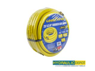 Manga de aire 25' 3/8 (GOODYEAR), Hydraulic Depot/GMC Rentals Puerto Rico