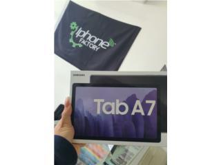 Samsung Galaxy Tab A7 10.4  64 GB Negro Unloc, Iphone FACTORY Puerto Rico