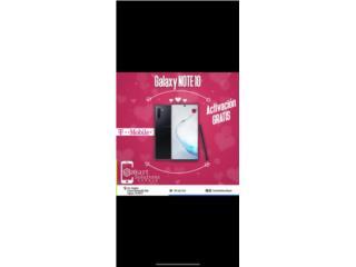 Samsung Note 10 Regular Activado, Smart Solutions Repair Puerto Rico