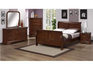 Juego Cuarto Modelo Louis Phillip, Dream Beds  Inc. Puerto Rico