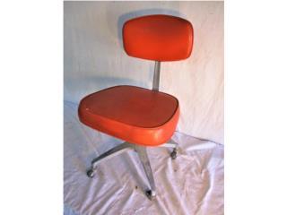 Super Cool Aluminum & Vinyl Chair 1960's, Mr. Bond Vintage Puerto Rico