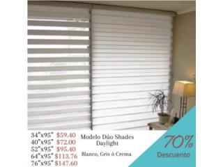 Cortinas Duo Shades daylight 70% desc., Cortinas Duo-Shades Puerto Rico Puerto Rico