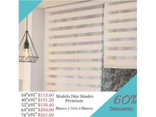 Cortina Duo Shades Premium(waterproof)60%desc, Cortinas Duo-Shades Puerto Rico Puerto Rico