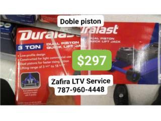Gato (Hidraulic floor jack) 3Ton $297, Zafira LTV Service Corp. Puerto Rico