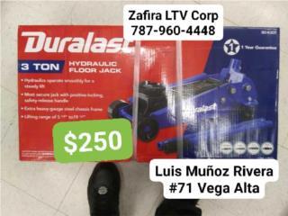 Gato (Hidraulic floor jack) 3Ton $250, Zafira LTV Service Corp. Puerto Rico