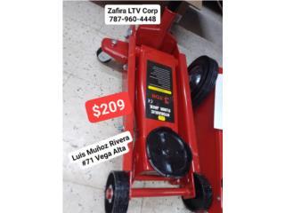 Gato (Hidraulic floor jack) 3Ton $209, Zafira LTV Service Corp. Puerto Rico