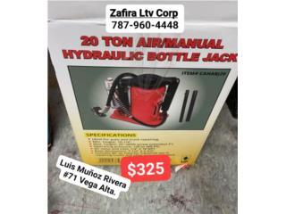 20 Ton Air/ Manual Hydraulic Bottle Jack $325, Zafira LTV Service Corp. Puerto Rico