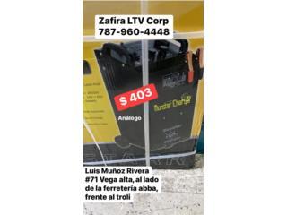 Cargador de BAteria Analogo $403, Zafira LTV Service Corp. Puerto Rico