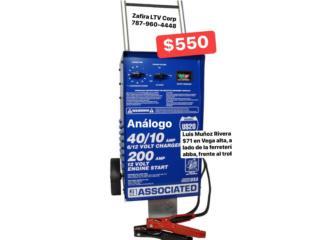 Cargador de BAteria Analogo $550, Zafira LTV Service Corp. Puerto Rico