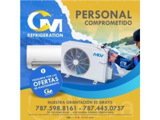 GARANTIA DE TODAS LAS COMPANIAS 787-692-2203, CM REFRIGERATION Puerto Rico