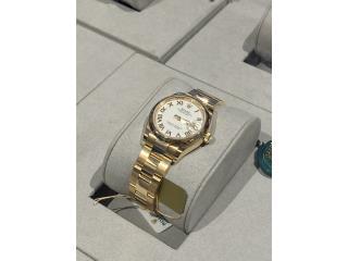 Rolex Datejust 31mm 18ct. yellow Gold New, CHRONO - SHOP Puerto Rico