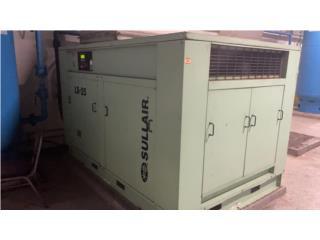 Compresor Sullair de 200 HP 910 CFM, All Industrial Equipment Corp. Puerto Rico