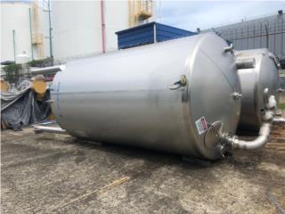 Tanque en SS 316 de 5,000 gals, All Industrial Equipment Corp. Puerto Rico