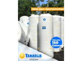 CISTERNA 150 GALONES DE APARTAMENTO, #1 Agua Tanagua Puerto Rico