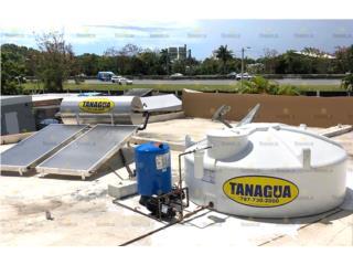 COMBO CALENTADOR Y CISTERNA , #1 Agua Tanagua Puerto Rico