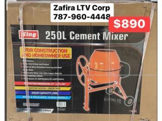 Mezcladora de cemento 2  mini $890 Electrica, Zafira LTV Service Corp. Puerto Rico