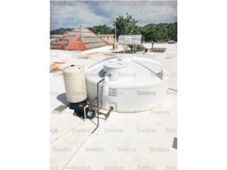 CISTERNA 500 GALONES INSTALADA, #1 Agua Tanagua Puerto Rico