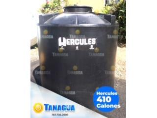 CISTERNA 410 GALONES MARCA HERCULES, #1 Agua Tanagua Puerto Rico
